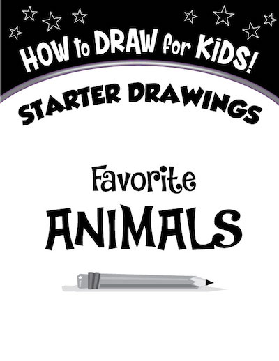 cover Favorite Animals Starter Drawings